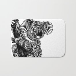 Ornate Koala Bath Mat
