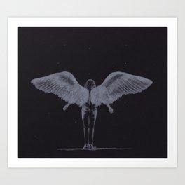Hey Angel (Harry Styles) Art Print