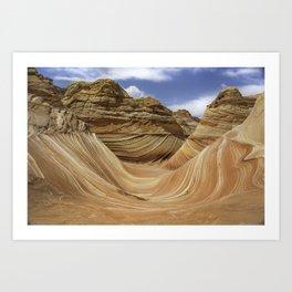 The Wave #3 - Arizona Art Print