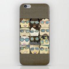 Glasses Vertical iPhone & iPod Skin