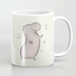 Dancing Hippo Coffee Mug