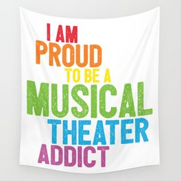 Musical Theater Pride Wall Tapestry