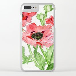 On The Fringe Clear iPhone Case