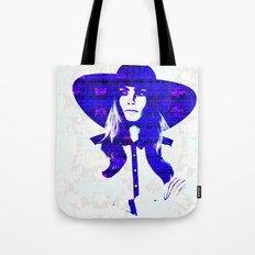 Cara Delevigne: Wide Brimmed Hat Tote Bag