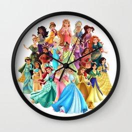 Filipiniana Princesses Wall Clock