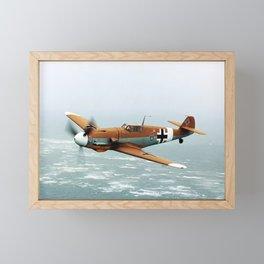 Bf-109 Photo #3 Framed Mini Art Print