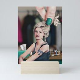 Sara & The Hand Mini Art Print