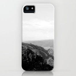 Natural Landscape Black-and-White I iPhone Case