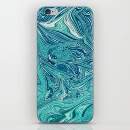 Persian Green Marble iPhone Skin