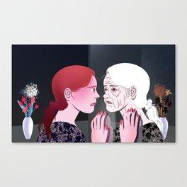 Ageing Canvas Print