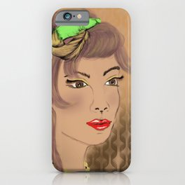 The Golden Girl iPhone Case