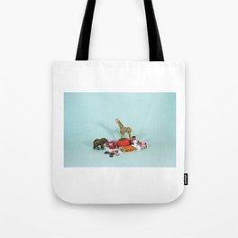 Grandma's Animals Tote Bag