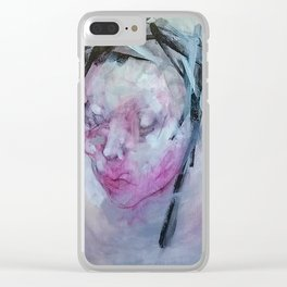 DELORES Clear iPhone Case