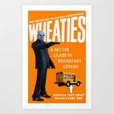 Wheaties - Joker Art Print