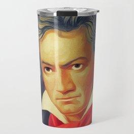 Ludwig van Beethoven, Music Legend Travel Mug