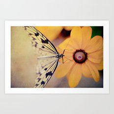 {Gentle Visitor} Art Print