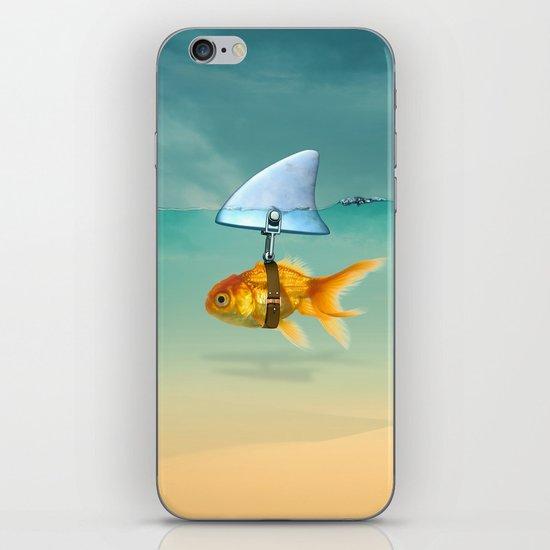 gold fish iPhone Skin