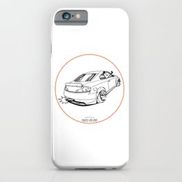 Crazy Car Art 0221 iPhone Case
