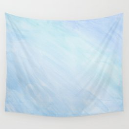 Blue waterclor Wall Tapestry