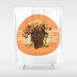 African human Shower Curtain