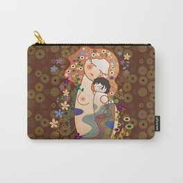 Kokeshi Mother&child Carry-All Pouch