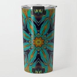 Feather Mandala Travel Mug