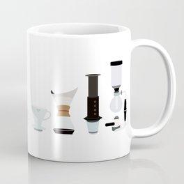 Coffee Time - Cute Latte Espresso Shop Design Coffee Mug