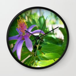 Mulberry Day Wall Clock