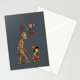 Groot - Pinocchio Stationery Cards