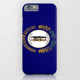 flag of kentucky-america,usa,midwest,Bluegrass,  Hemp State,Kentuckian,Louisville,lexington,richmond iPhone Case