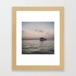 """""""Lakehouse"""" Framed Art Print"""