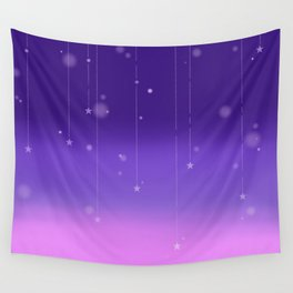 Wish Upon A Falling Star Wall Tapestry