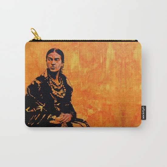 FRIDA KAHLO - the mistress of ARTs - original painting Carry-All Pouch