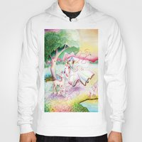 fairy tale Hoodies featuring Fairy Tale by Julie Edwards