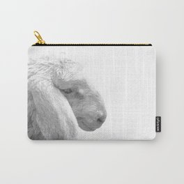 Black and White Sheep Carry-All Pouch