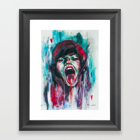Compulsion Framed Art Print