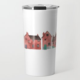 Red Houses Travel Mug