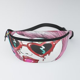 Laser Lolita Fanny Pack