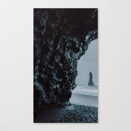 Reynisfjara Cave Canvas Print