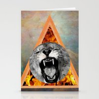 leon Stationery Cards featuring leon by blueart