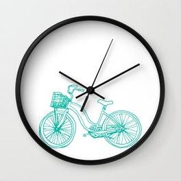 Two suspension mountain bike Wall Clock