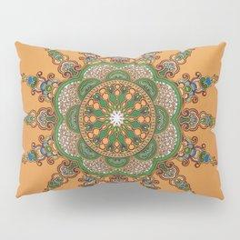 African Ankara Sunrise Pillow Sham