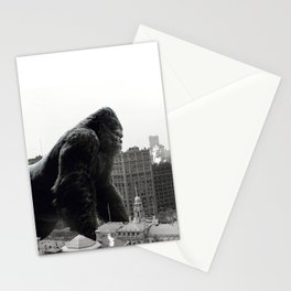 King Kong in New York City 1908 Stationery Cards