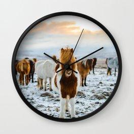 Nordic Wild Wall Clock