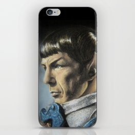 Spock - The Pain of Loss (Star Trek TOS) iPhone Skin