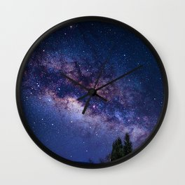 UP ABOVE THE SKY Wall Clock
