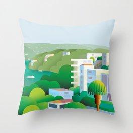 Acapulco Breeze Throw Pillow