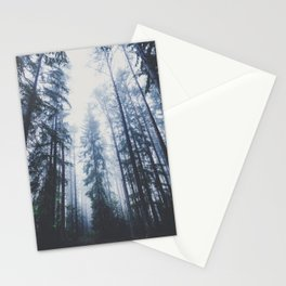 The mighty pines Stationery Cards