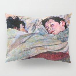 """Henri de Toulouse-Lautrec """"The Bed"""" Pillow Sham"""