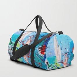 Regatta by Raoul Dufy Duffle Bag